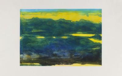I cieli sopra Berlino - cm 160 x 110 - acquaforte, acquatinta, cera molle, 1996/2000