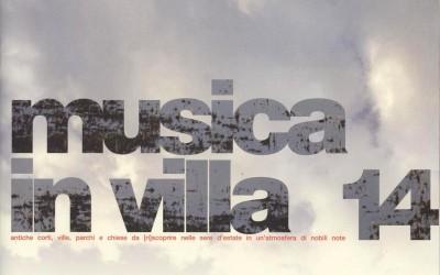 musica in villa 2014