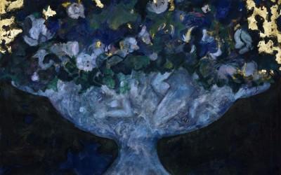 Le fleurs du mal - cm 210 x 300 - tecnica mista su tela - 1986