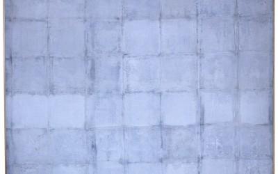 Casellario - cm 145 x 145 - tecnica mista su tela - 1974