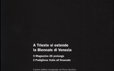 Biennale di Venezia - Padiglione Italia - Friuli Venezia Giulia