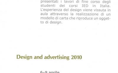 Istituto di Cultura Italiana, Mosca 2010, Design