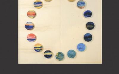 L'universo dentro, una mostra di Arte e Scienza, Costellazioni, Affresco - mosaico