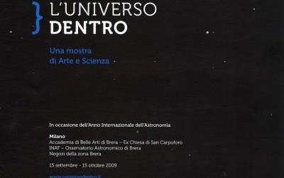 L'universo dentro, una mostra di Arte e Scienza