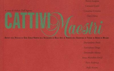 copertina catalogo cattivi maestri