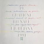 International biennal of graphic art