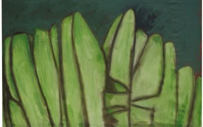 L'arbre du voyageur - cm 180 x 250 - tecnica mista su tela - 1992