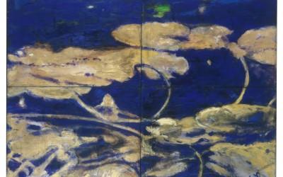 I giardini dell'anima - cm 140 x 200 - tecnica mista su tela - 1994