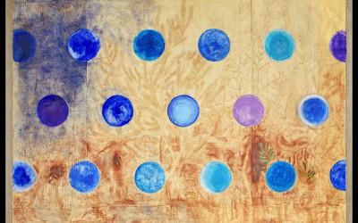 Pictura - 250 x 350 cm - tecnica mista su carta intelaiata, 2012
