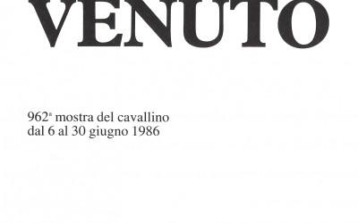Gian Carlo Venuto - Cavallino 1986