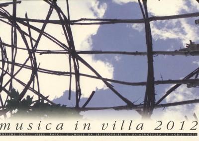 Musica in villa 2012
