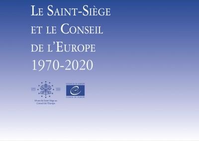 Pannelli mostra: Le Saint-Siège  et le Conseil  de l'Europe 1970-2020