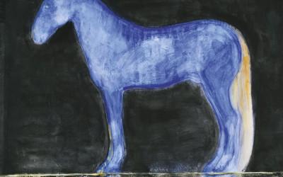 Cavallo blu lapislazzulo